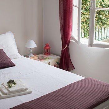 Holiday apartment Dolceacqua - camera da letto