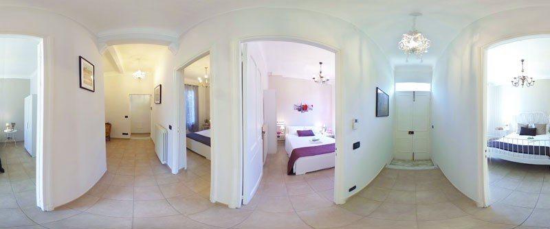 Holiday apartment Dolceacqua - corridoio 360