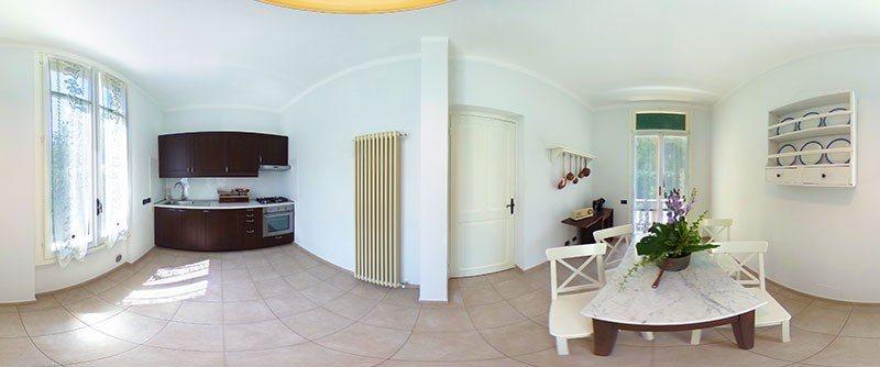 Holiday apartment Dolceacqua - cucina 360