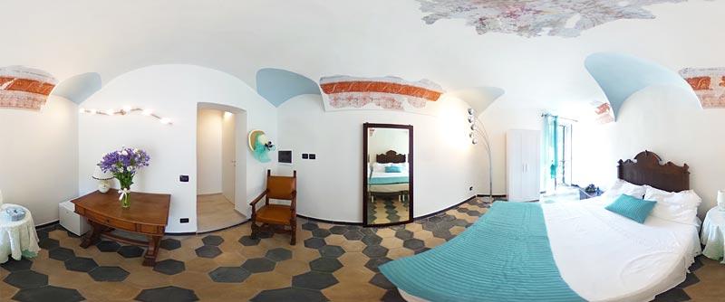 Bed & Breakfast Dolceacqua - camera del fiordaliso 360