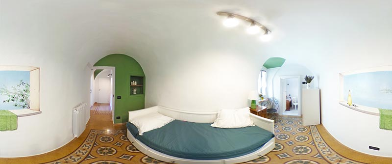 Bed & Breakfast Dolceacqua - camera dell'olivo 360