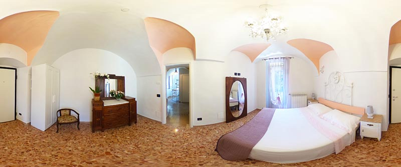 Bed & Breakfast Dolceacqua - camera delle rose 360