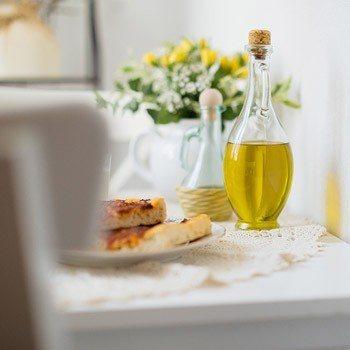Bed & Breakfast Dolceacqua - olio e pizza
